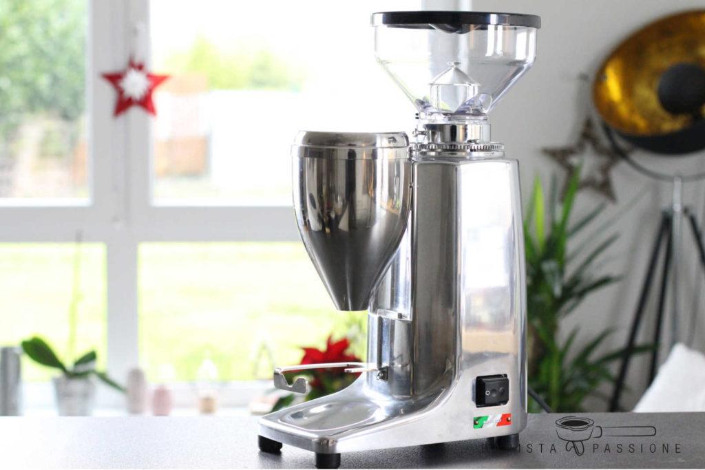 espressomühle quamar m80e nutzen wir