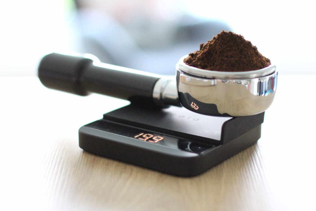 Kaffeemehlverteilung