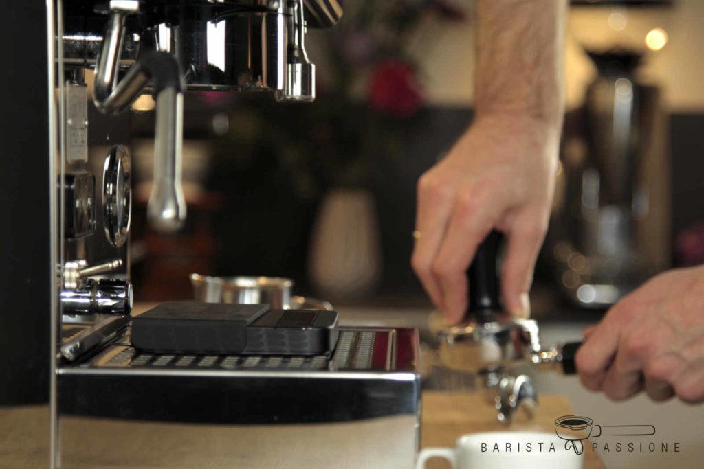 espresso zubereiten - tamper