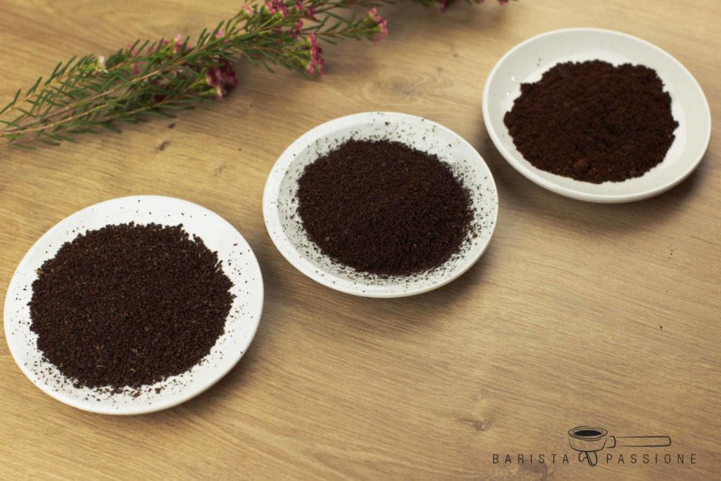 homogener mahlgrad espresso