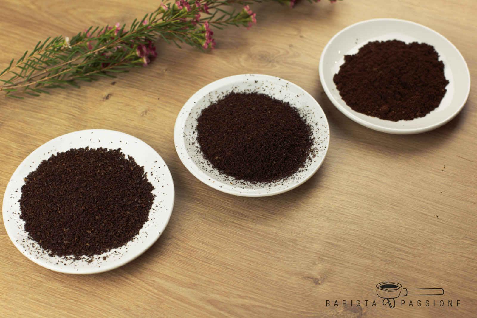 5ef350e27c Grundsätzlich sollte der Mahlgrad für Espressobohnen sehr fein sein. Um ein  Gefühl dafür zu bekommen, wie fein du deine Bohnen mahlen solltest, ...
