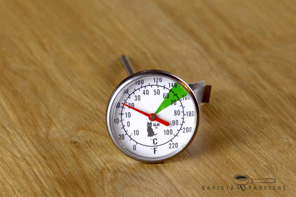 milch aufschäumen milchschaumthermometer