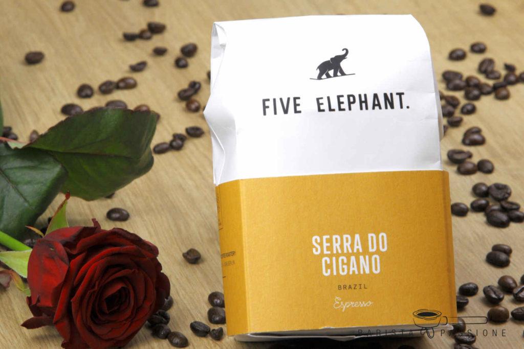 Espressobohnen für die Cappuccino-Zubereitung