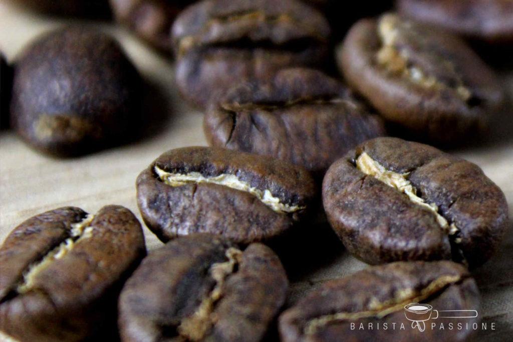 Kaffeebohnen für die Zubereitung eines perfekten Cappuccinos