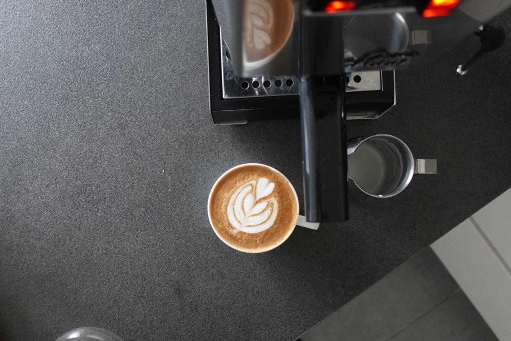 gaggia-classic-latte-art